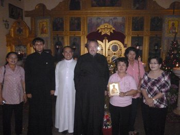 Representatives of the Catholic community in Pattaya congratulate Orthodox Christmas
