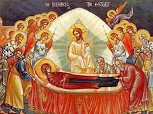 Icon of Holy Dormition of Mother of God