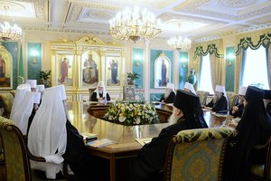 Session of the Holy Synod of the Russian Orthodox Church