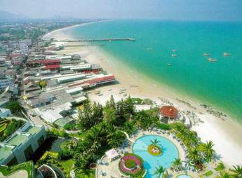Resort town of Hua Hin in Prachuap Khiri Khan province