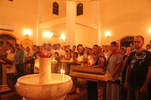 Paschal service in Trinity Church on Phuket (2013)