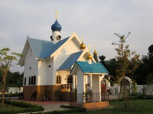 Holy Dormition Monastery in the province of Ratchaburi