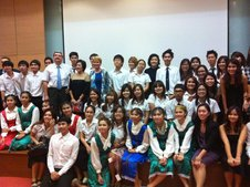 Evening of Russian language and culture at the University of Thammasat