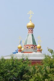 New Orthodox church in the name of Saint Nicholas, archbishop of Mira in Lycia in Bangkok