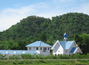 Holy Dormition Monastery in Ratchaburi province