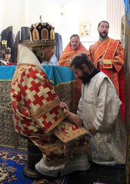 Ordination of hierodeacon Seraphim (Raicea) to hieromonk