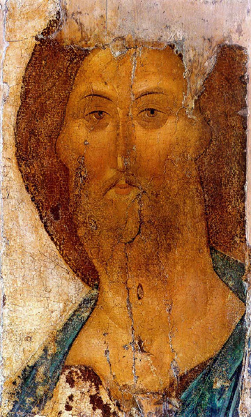 Icon of the Saviour by Andrey Rublev