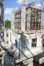 Current progress of the building the new St. Nicholas church in Bangkok (June 2013)