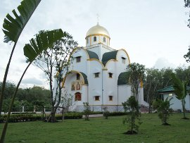 Holy Trinity church in Phuket (September 2012)