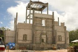 строительство храма во имя Святой Троицы на Пхукете (14.07.2010)