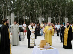 закладкa храма Святой Троицы на Пхукете (21.12.2009)