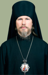 Head of the Secretariat of Moscow Patriarchia for Foreign Institutions of Russian Orthodox Church archbishop of Egorievsk Mark (Golovkov)